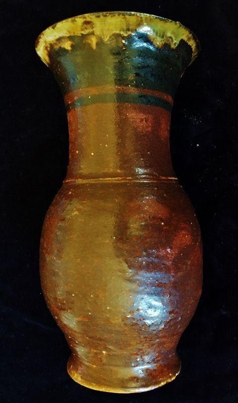 Large Marguerite Wildenhain Pond Farm Studio Pottery Vase Nice Glaze Bauhaus Era