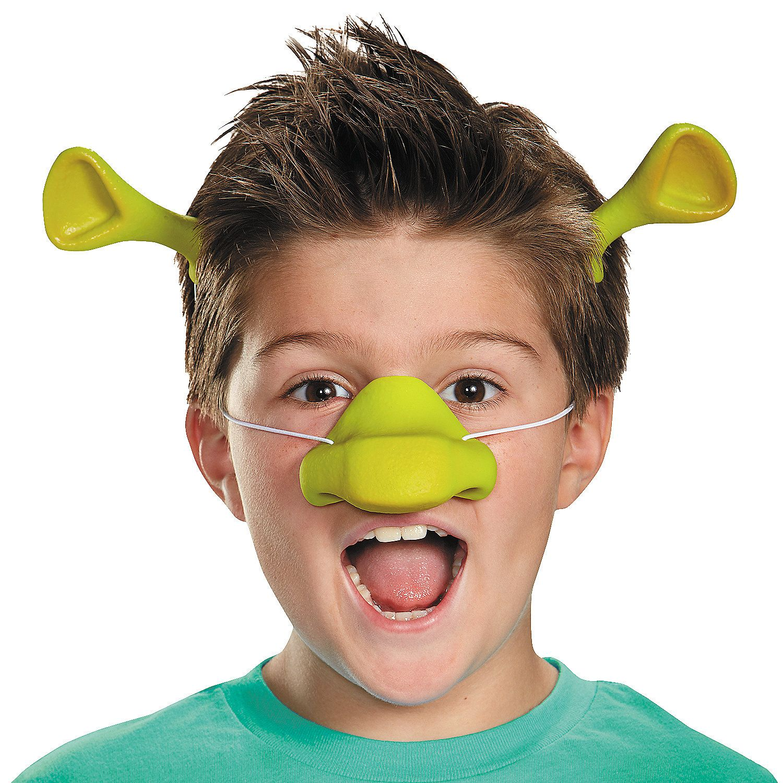 "Long nose pinocchio puppet costume latex nose 7/"" elastic strap Halloween faBLUS"