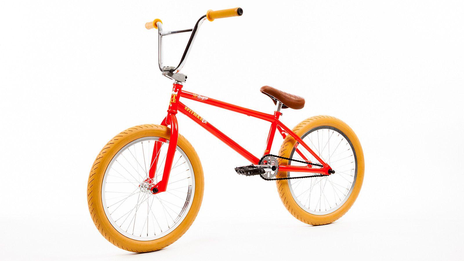 Fit 2017 Dugan 1 Orange Red Complete Lhd Bmx Bike Bmx