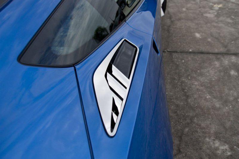 """2014 C7 Corvette Stingray - 10pc Polished Rear Quarter Vent Set """"Z06 Style"""""""