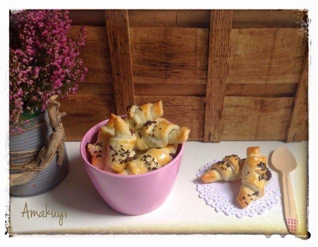 Croissants de Chocolate | Cocinar en casa es facilisimo.com