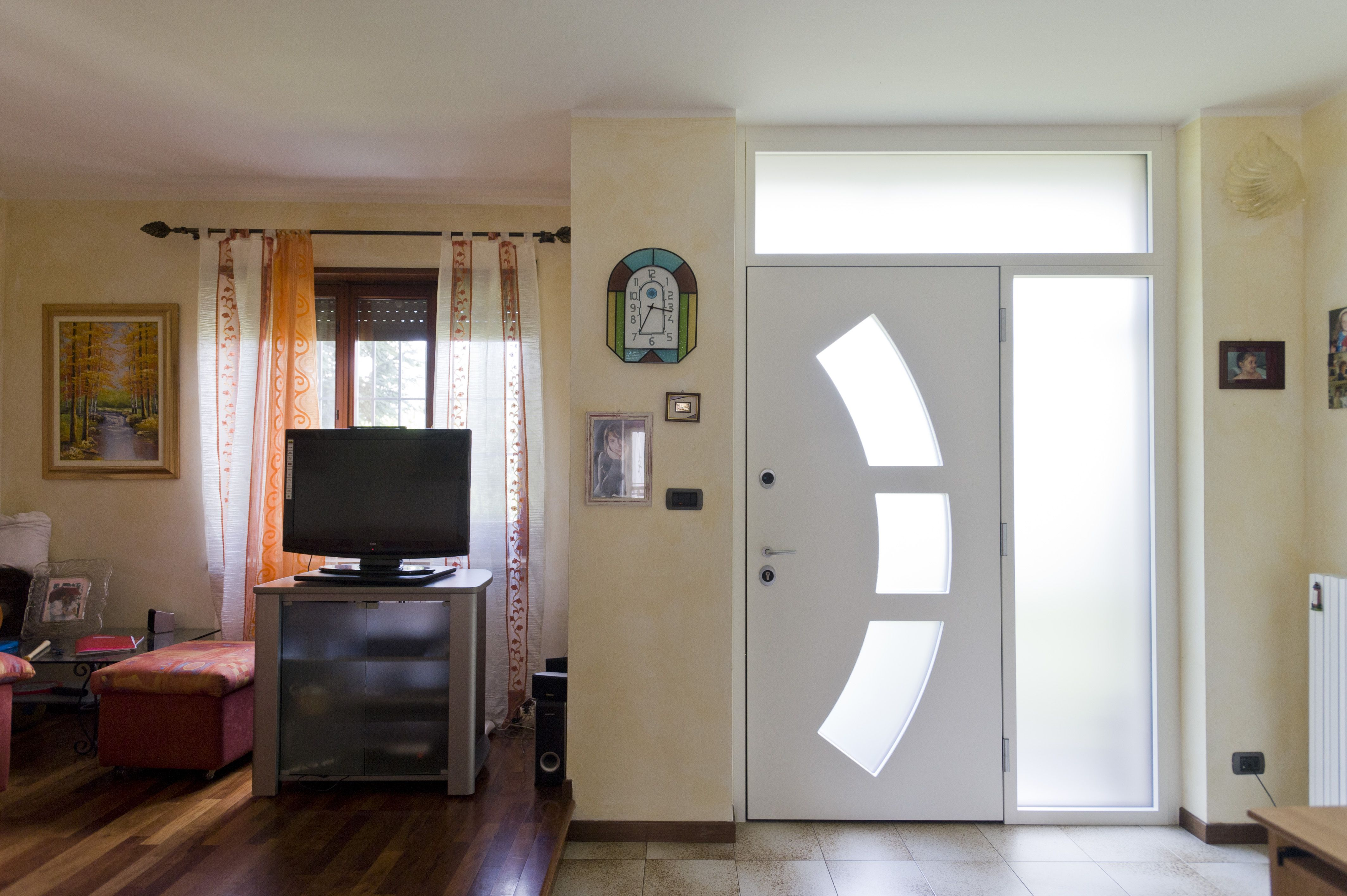 Security door with Strong glass | Security door, Home ...