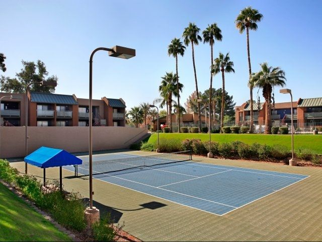 Tennis Court @ Haven Luxury Apt. Homes   Tempe Arizona. 660 Unit