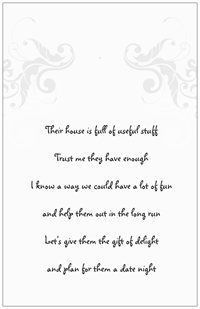 image result for date night bridal shower invitations