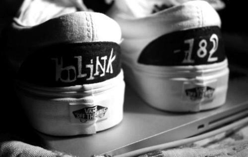60% barato mejor baratas mayor selección Blink-182 Vans! Must have! | Band merch, Blink 182
