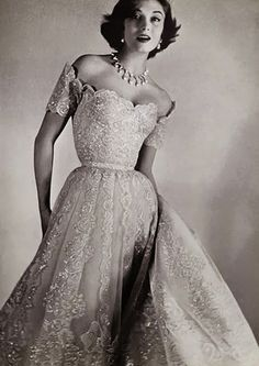 old hollywood glamour wedding dress - Grace Kelly style! | White ...