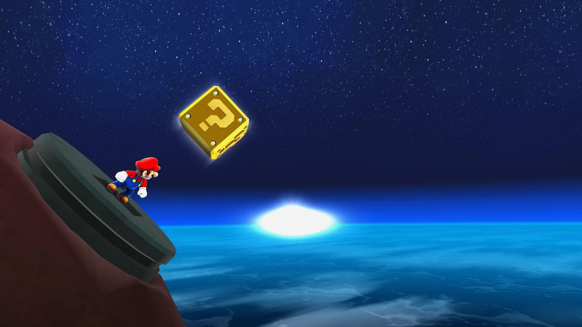 Super Mario, Galaxy, Space, Game super mario #galaxy #space #1080P #wallpaper #hdwallpaper #desktop