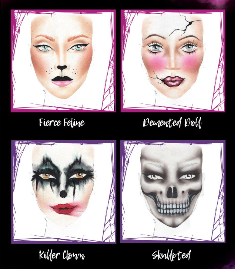 Halloween Makeup Looks from Make Up For Ever
