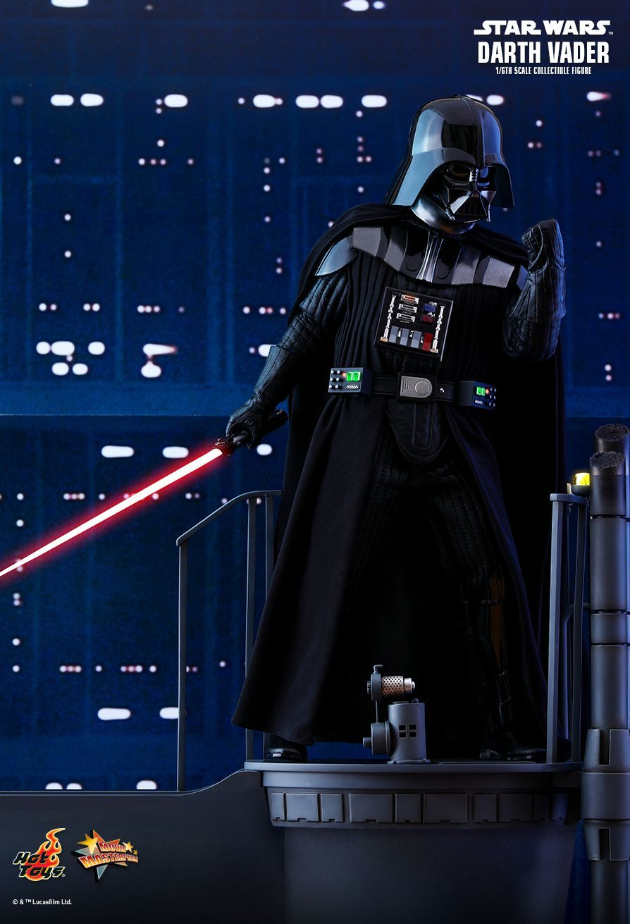 Star Wars Episode V The Empire Strikes Back Darth Vader 1 6th Collectible Figure With Led Lighted Red Lig Empire Strike Darth Vader The Empire Strikes Back