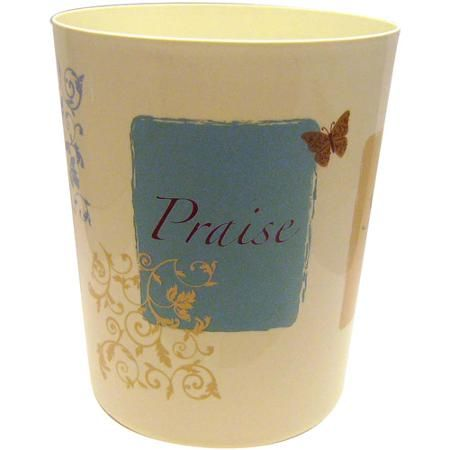Butterfly Blessings Waste Basket Butterfly Bathroom Christmas