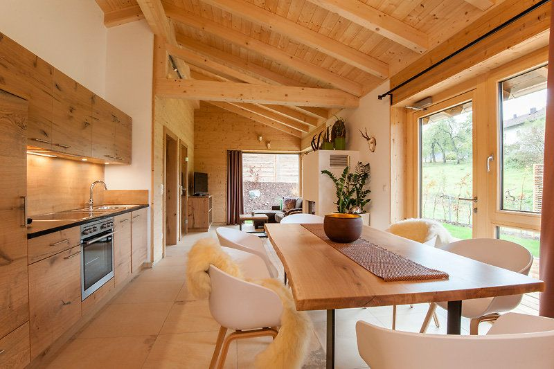 luxus chalets k pplwirt in drachselried bayerischer wald h tte pinterest bayerische. Black Bedroom Furniture Sets. Home Design Ideas