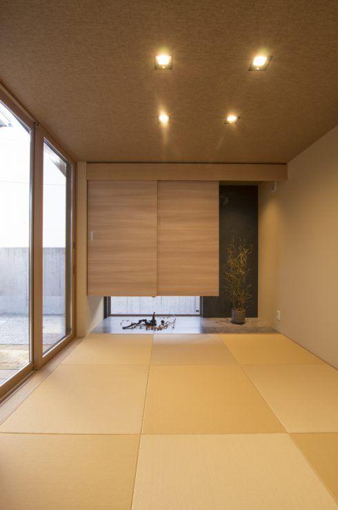 やすらぎのある家 施工例 米田木材 日本のモダンな家 和室