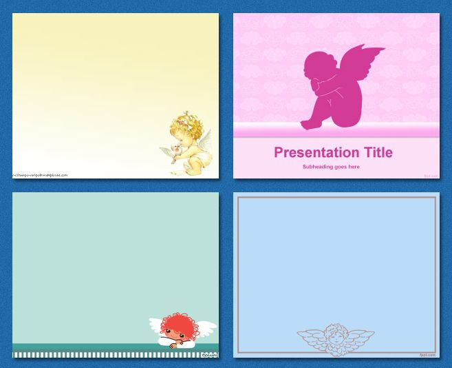 free #background #graphics - Angels PowerPoint Templates - angels templates free