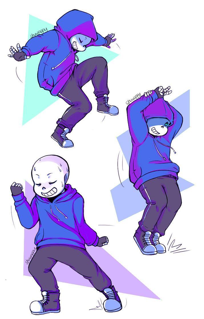 Dancetale Sans by Shuwappy on DeviantArt