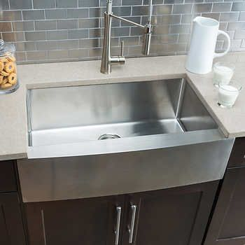 Hahn Chef Series Handmade Extra Large Single Bowl Farmhouse Sink