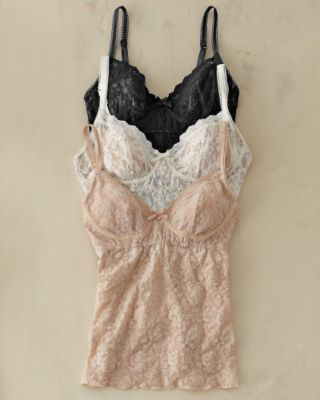 0b3527e3f3 Hanky Panky Structured Soft-Cup Bra-Top Camisole