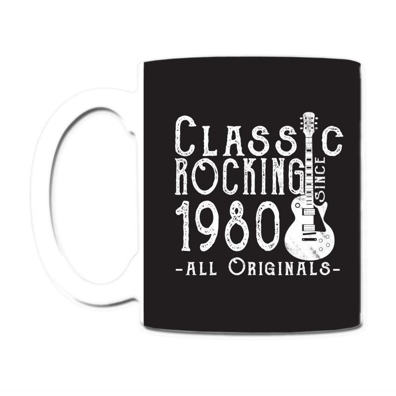 rocking since 1980 copy Coffee & Tea Mug