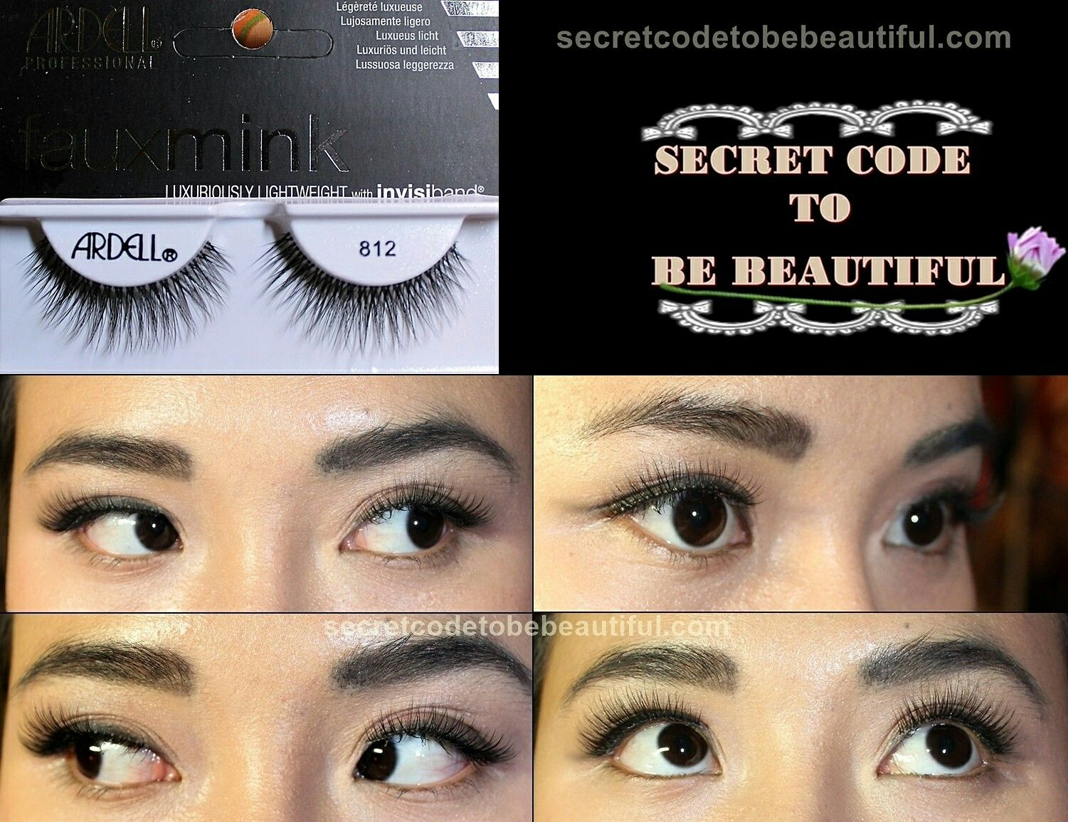 fb1c2718232 Ardell faux mink lashes 812 Visit secretcodetobebeautiful.com for review