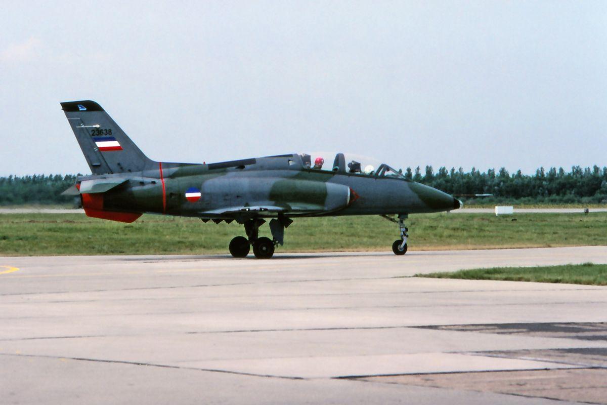 Soko G 4 N 62 Super Galeb Fighter Jets Soko Aircraft
