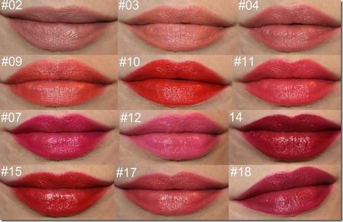 Bourjois Rouge Edition Lipstick In The Know Lipstick Swatches