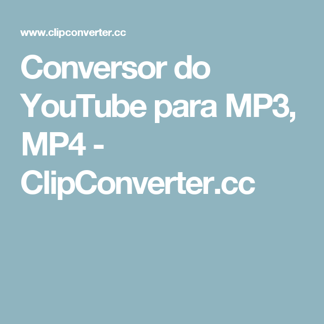 how to download clipconverter cc