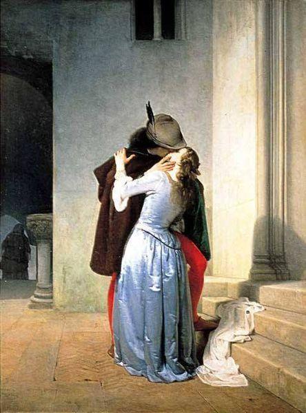Francesco Hayez, The Kiss 1867.