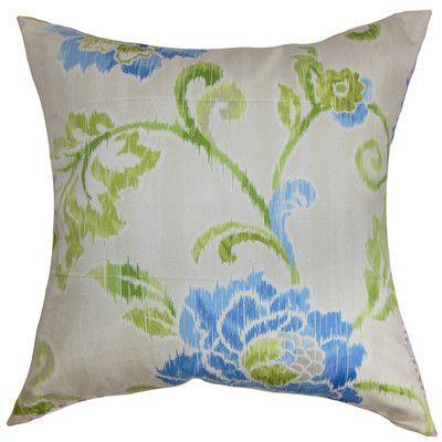 The Pillow Collection Jarrah Floral Bedding Sham Size: Standard