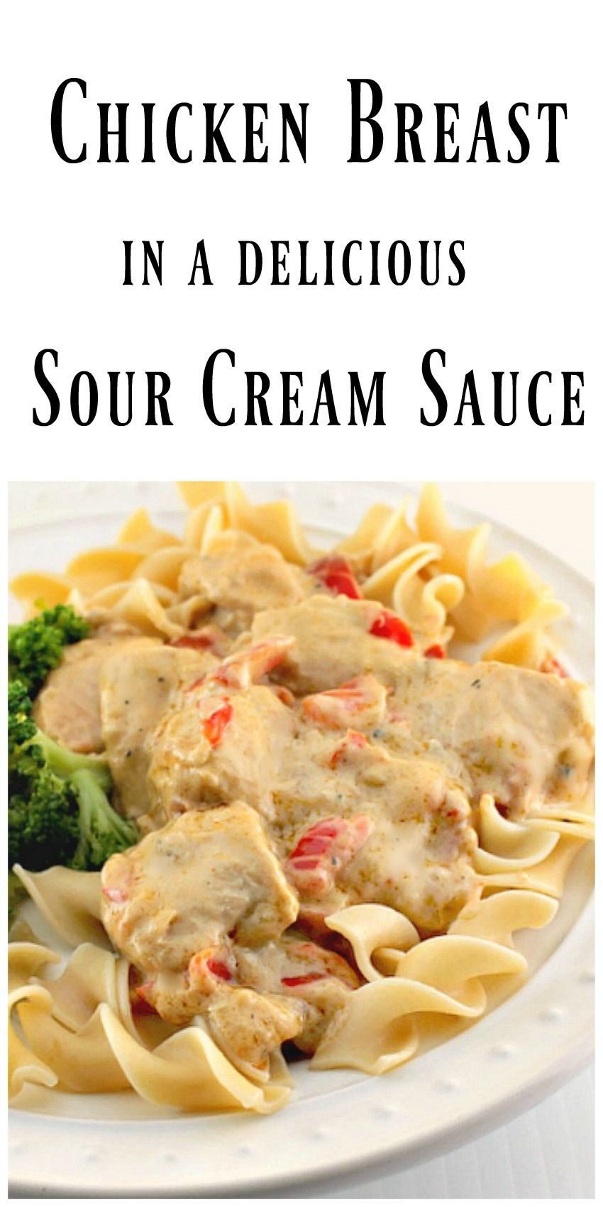 Sour cream sauce: a variety of flavors