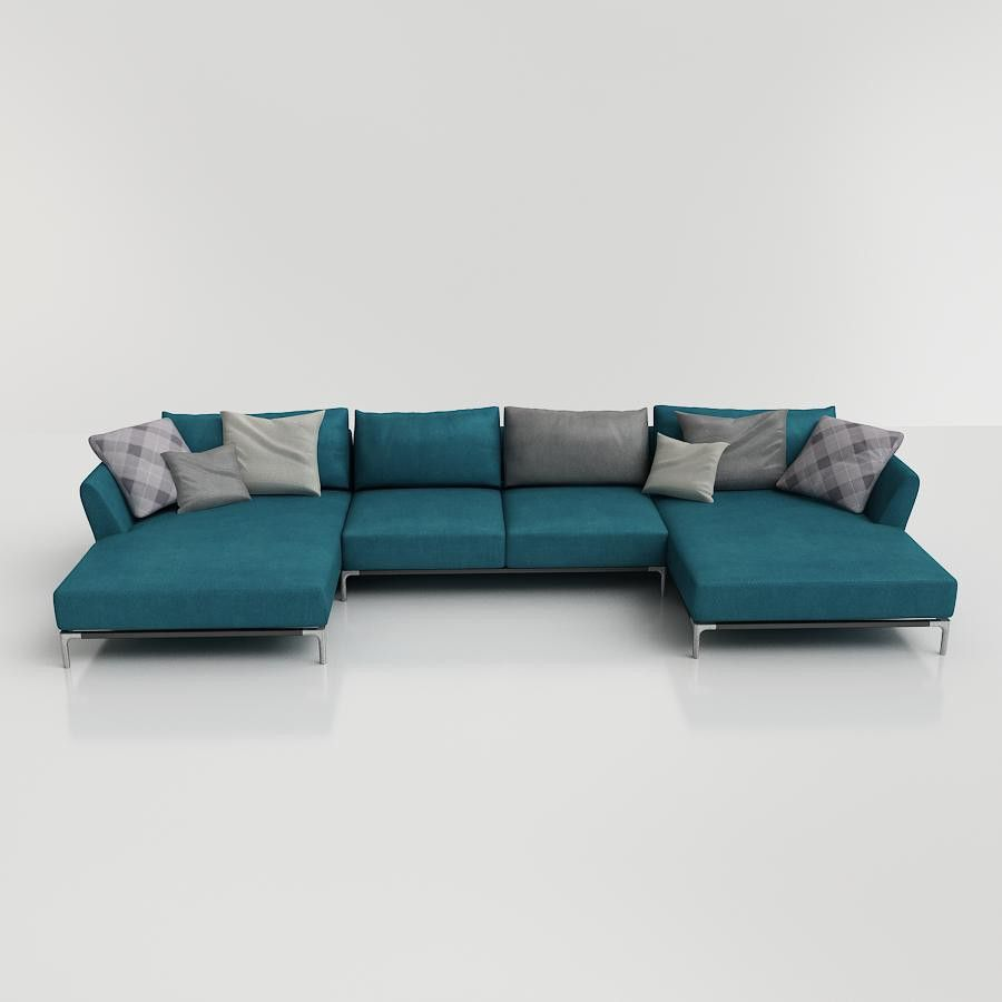 Pin By 3d Furniture On Revit 3d Models Download Sofa
