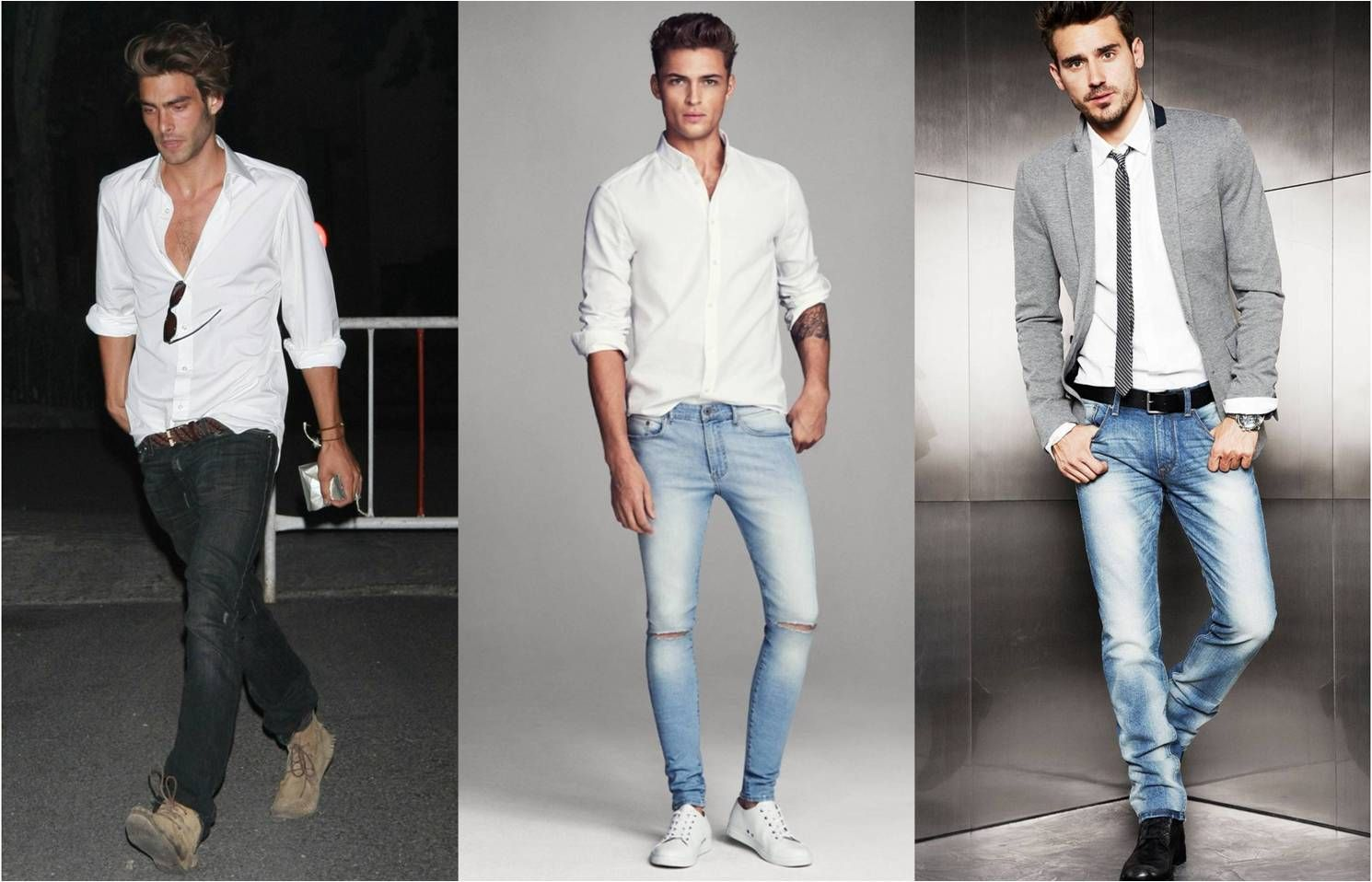 white shirts and jeans | Fashion | Pinterest | Shirts, White ...
