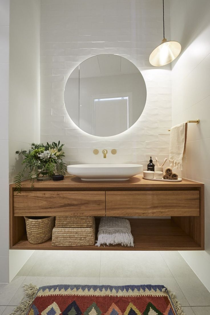 Photo of #badezimmer The Block 2020 Andy and Debs Main Bathroom #bathroom #block – Badezimmer