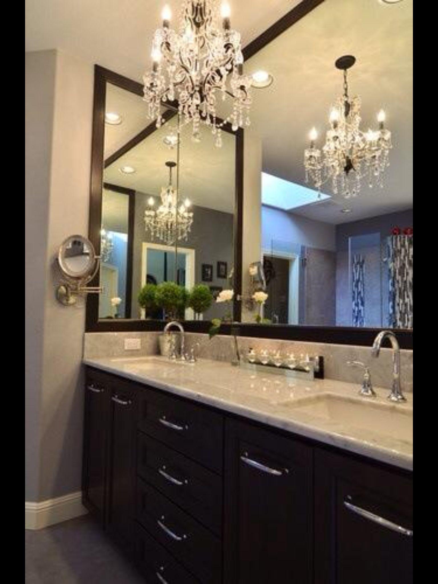 Awesome mirror idea ideas for bathroom pinterest beautiful