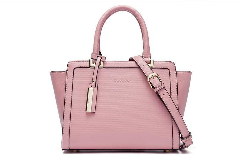 5d6990a2faa5 Minimal Multi-Color Pastel PU Leather Handbag Shoulder Bag