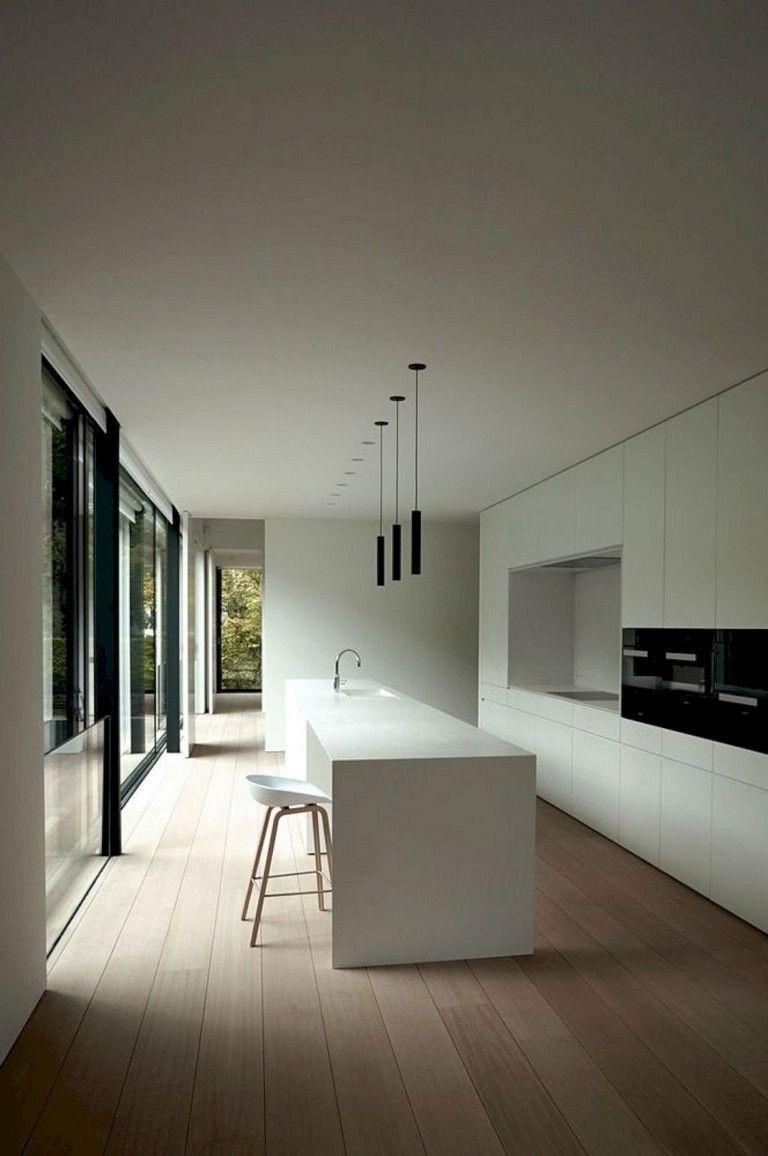 12+ superbes décorations de cuisine blanches et idées de design ...