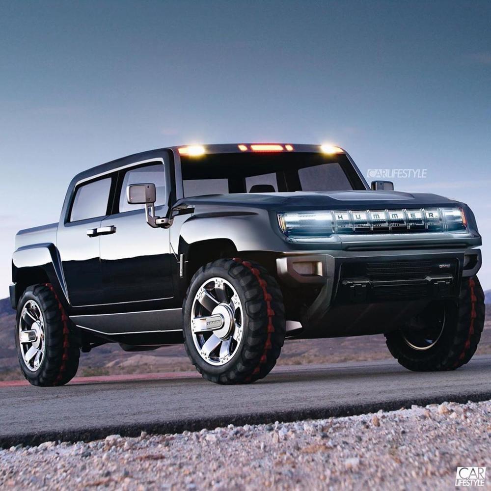 تحديد موعد اصدار جي أم سي هامر 2021 البيك أب الكهربائية ذات القدرة الهائلة موقع ويلز New Hummer Hummer H2 Accessories Black Ford Raptor
