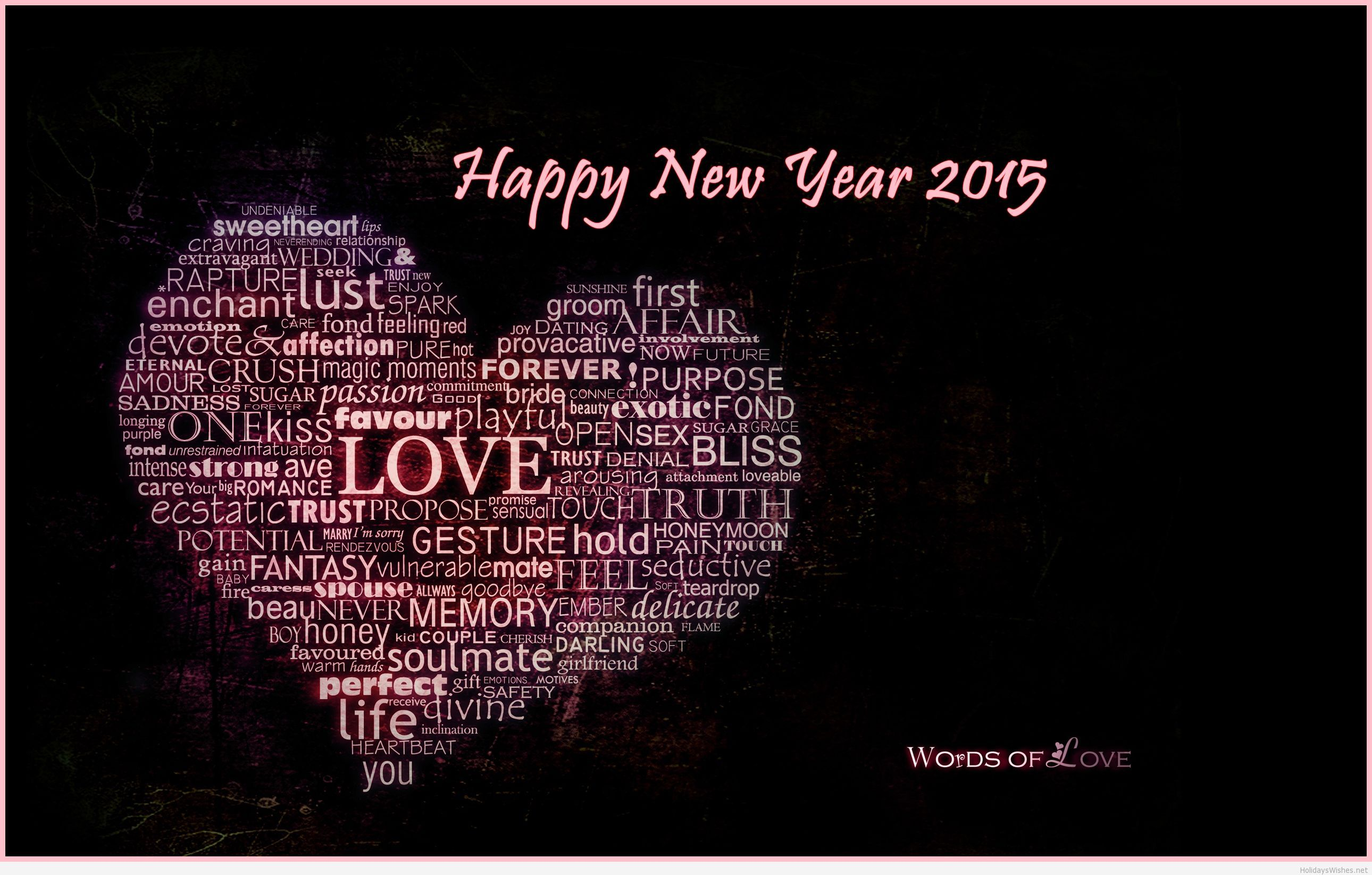 Wishes for all through new year 2015 wishes for friends girl friend blessings kristyandbryce Gallery