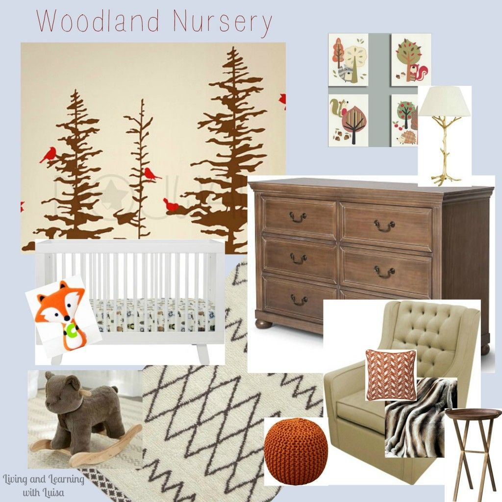 Woodland Themed Nursery: Woodland Nursery Inspiration