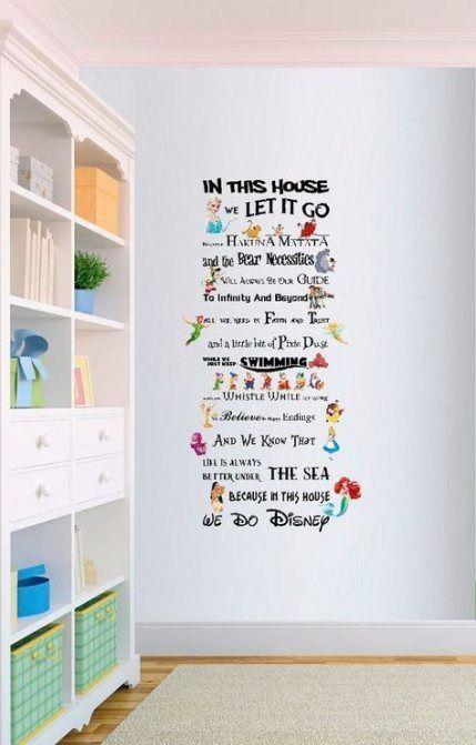 49 Super Ideas Home Decored Quotes Disney Decorations #disneydecorations 49 Supe...