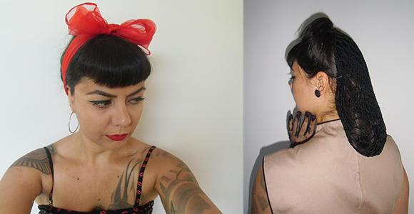 Saviez-vous que Pimp vous propose aussi des accessoires pour vos coiffures pin-ups ? ✨ #pinup #pinups #coiffure #hair #hairstyles #snood #scarf #retro