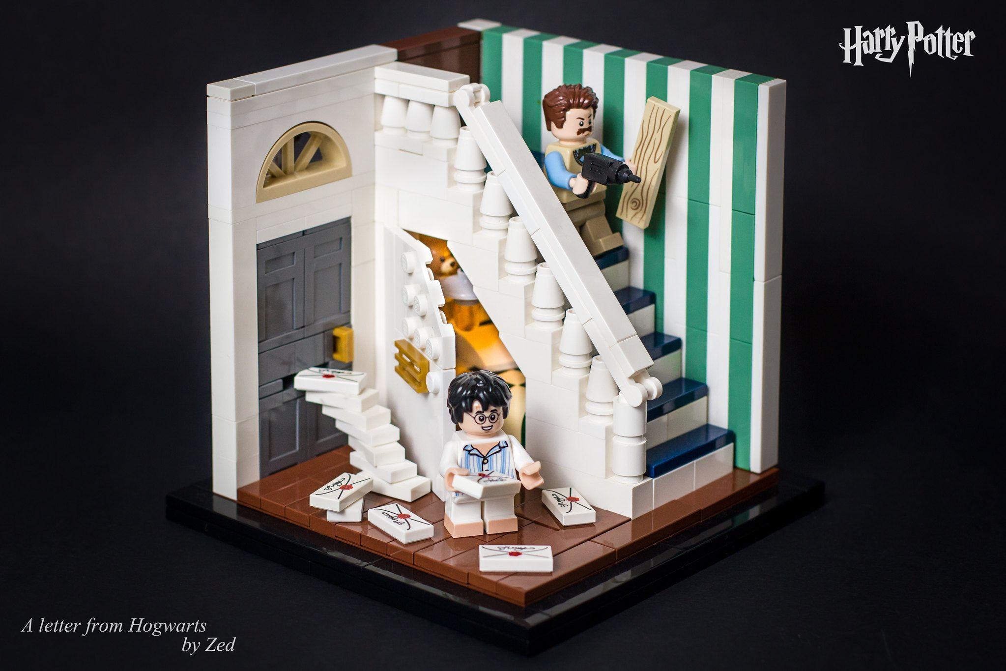 A Letter From Hogwarts Lego Hogwarts Lego Harry Potter Harry Potter Lego Sets