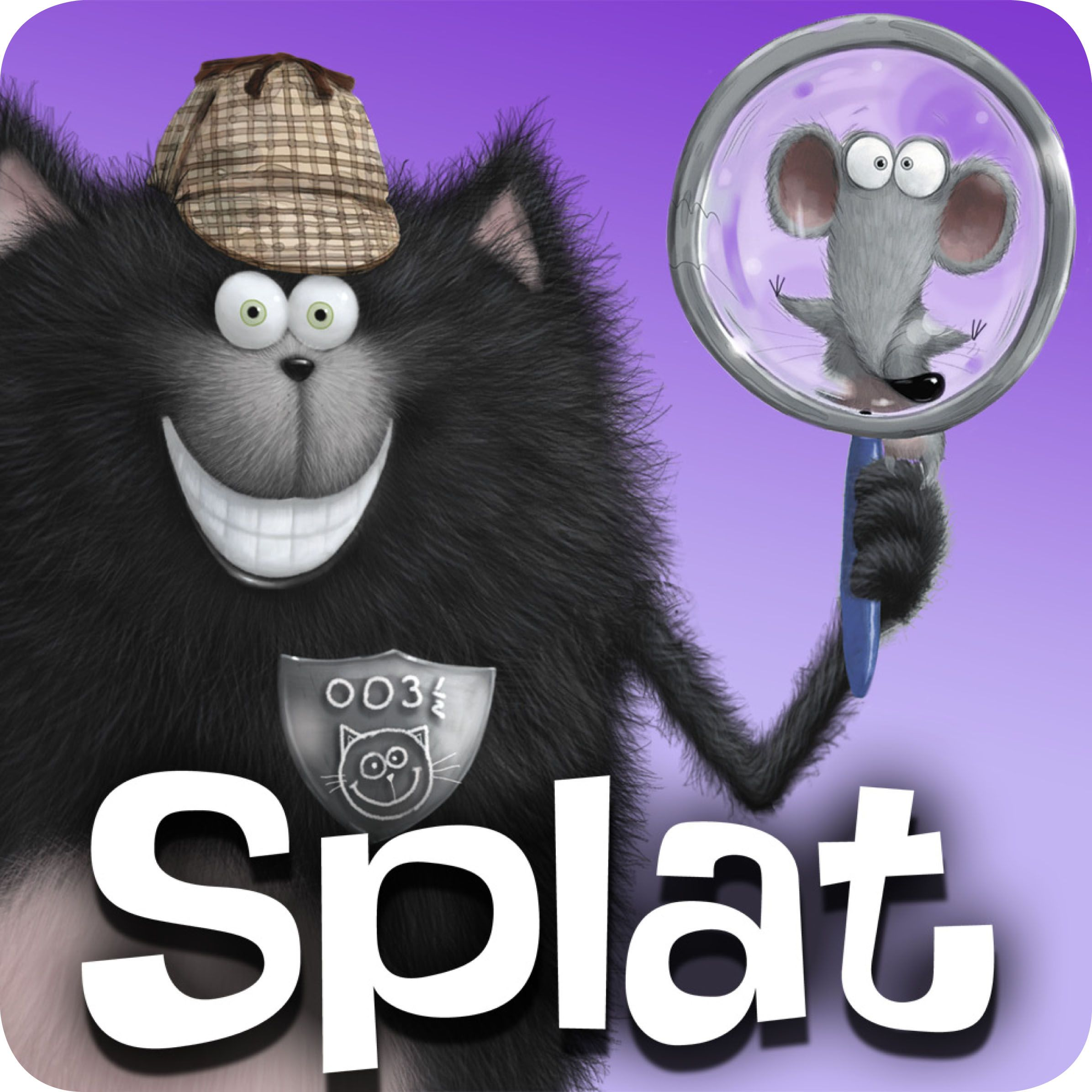 Join Secret Agent Splat in his mission as you read the