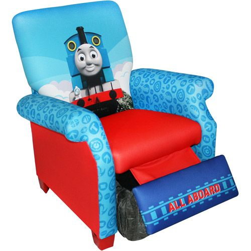 Lovely Hit Entertainment Thomas The Train Engine Recliner   Let Your Kids Take A  Load Off With The Hit Entertainment Thomas The Train Engine Recliner .