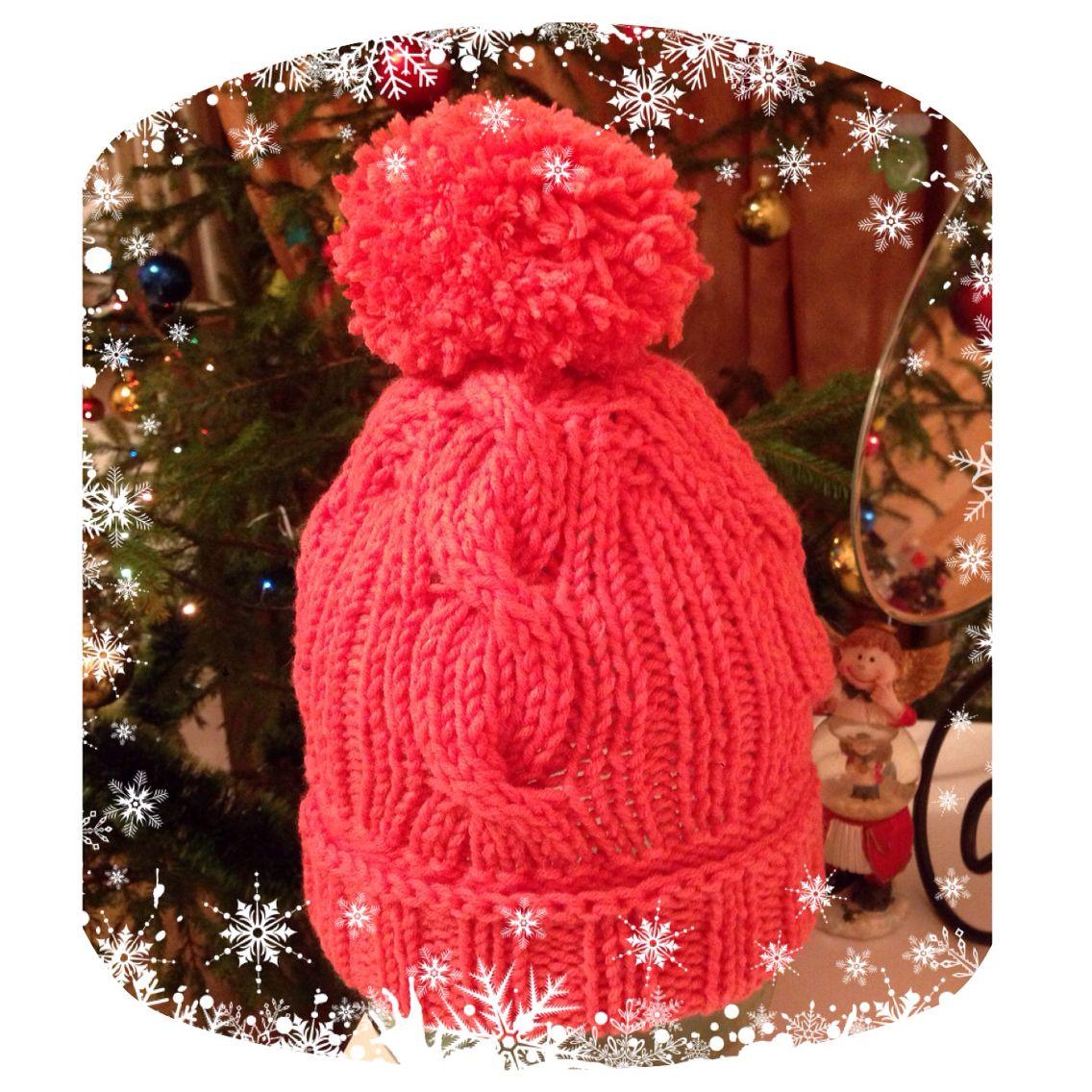 Red warm hat
