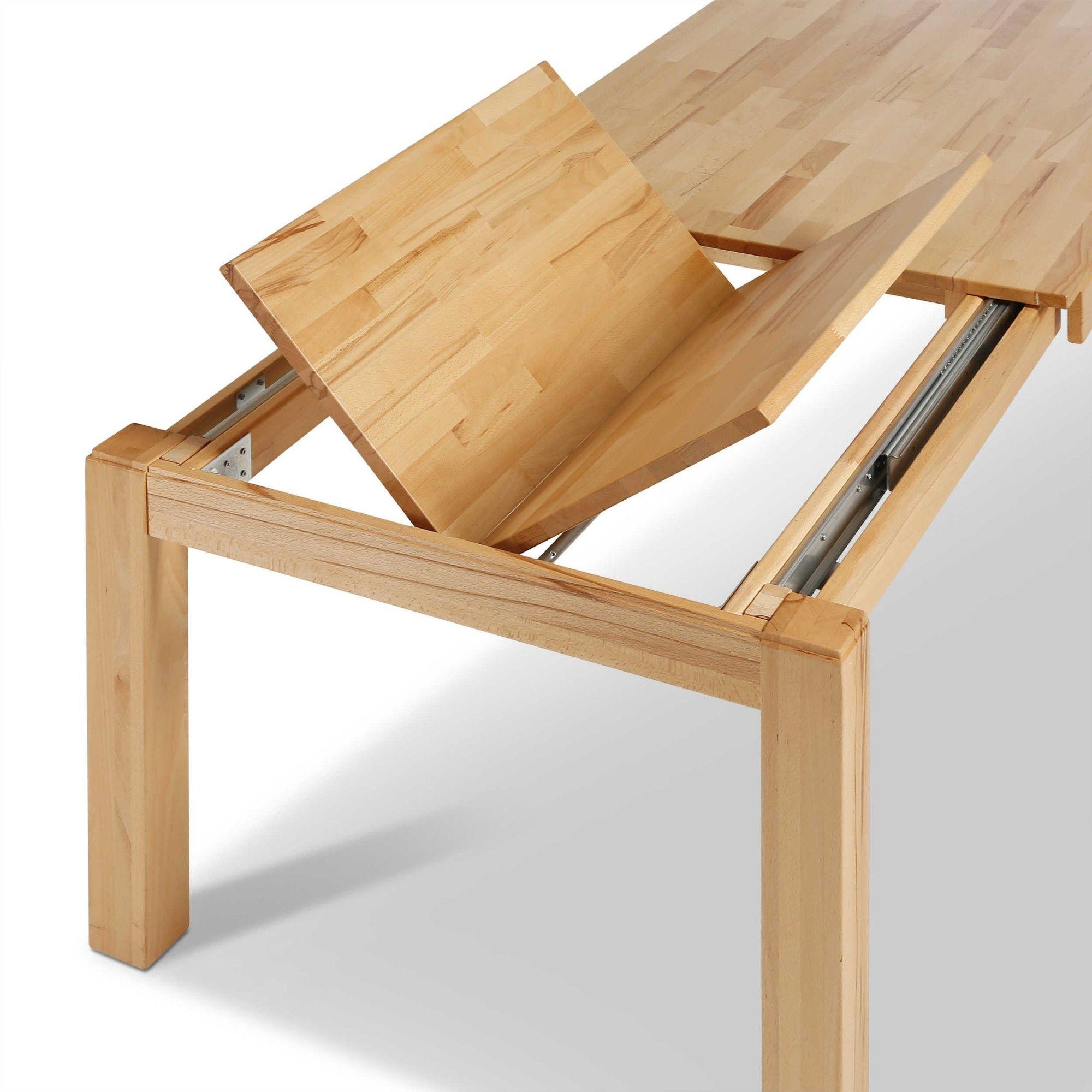 Tisch Mit Auszug Prag 140 X 90 Cm Esstische Ausziehbar Esstisch Ausziehbar Kuchentisch Ausziehbar Esstisch Massiv