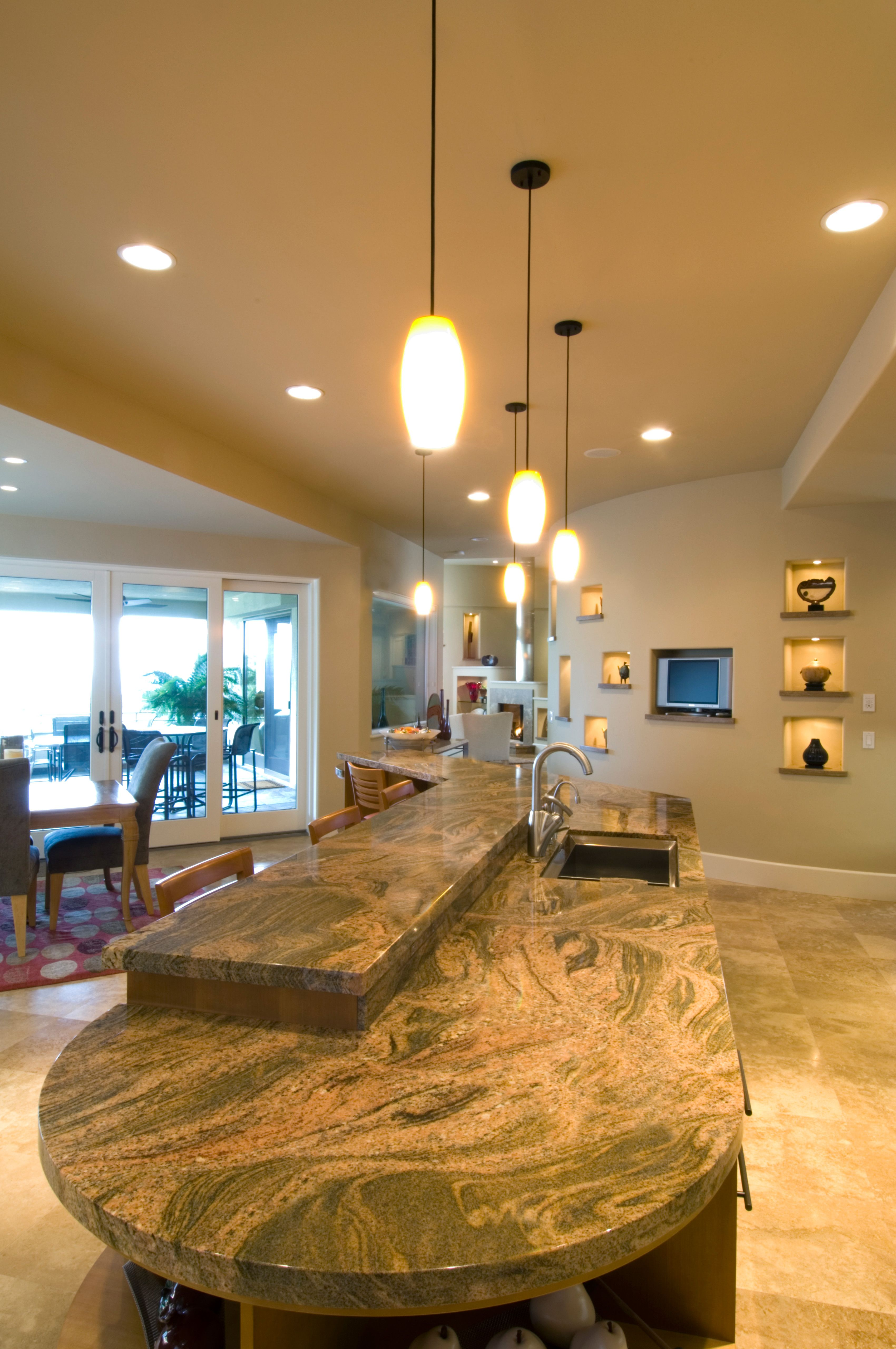 Kitchen Counter Top Designed By Dennett Tile Of Santa Rosa Ca Www