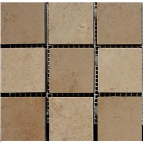 "Decorative Stone Tile Interceramic  Cedar Stone Random Mosaic 6"" X 6"" Wall Decorative"