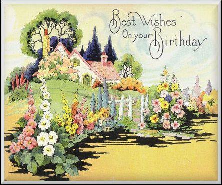Angels Happy Birthday Google Zoeken Vintage Birthday Cards Vintage Cards Vintage Birthday