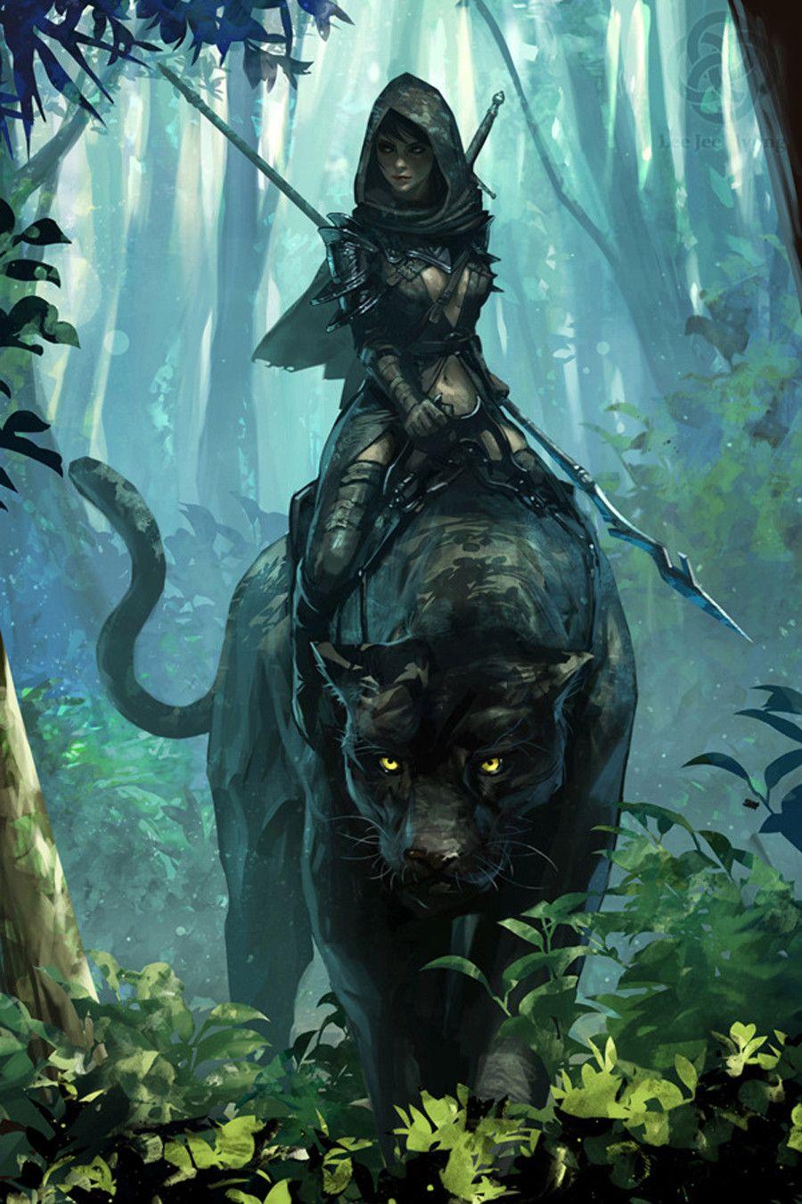 Creative Digital Illustrations | Inspiration | Graphic Design Junction |  Fantasy artwork, Fantasy art, Fantasy warrior