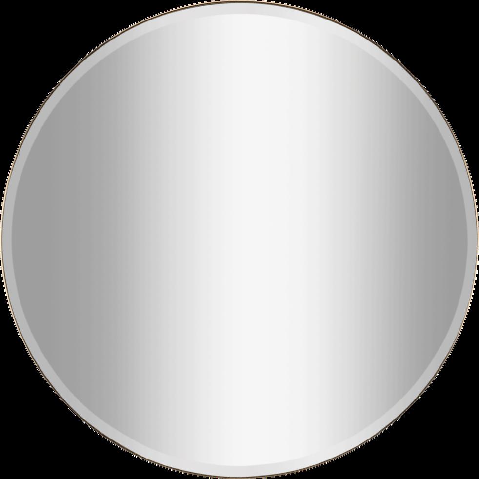 Miroir Rond Avec Pourtour En Metal Dore D1 M Round Miroirs Alinea En 2020 Miroir Rond
