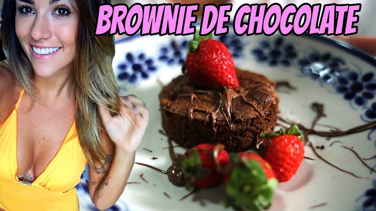 COMO FAZER UM BROWNIE DE CHOCOLATE com Ste Marques
